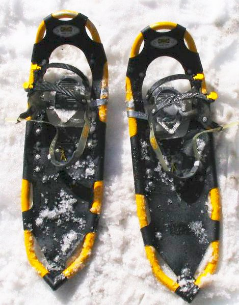 Snow Shoes That Look Like Tennis Rackets