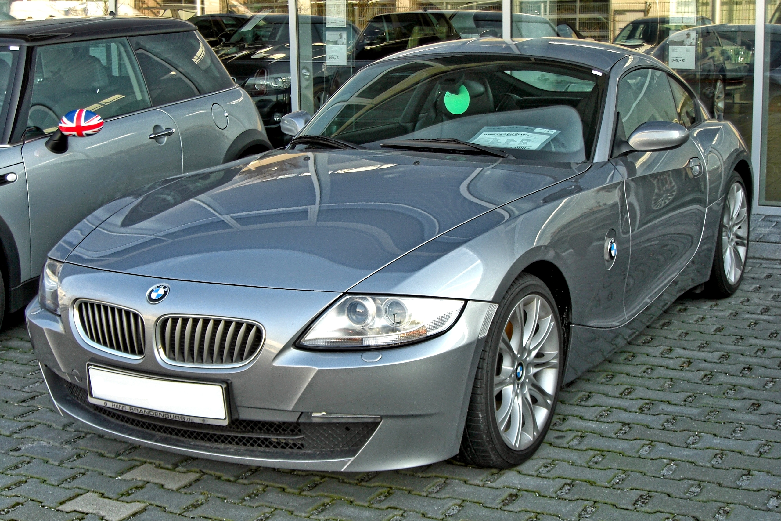 File Bmw Z4 Coup 233 20090321 Front Jpg Wikimedia Commons