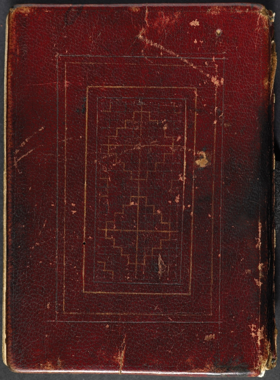 Old Book Back Cover : File back cover of st cuthbert gospel g wikimedia commons