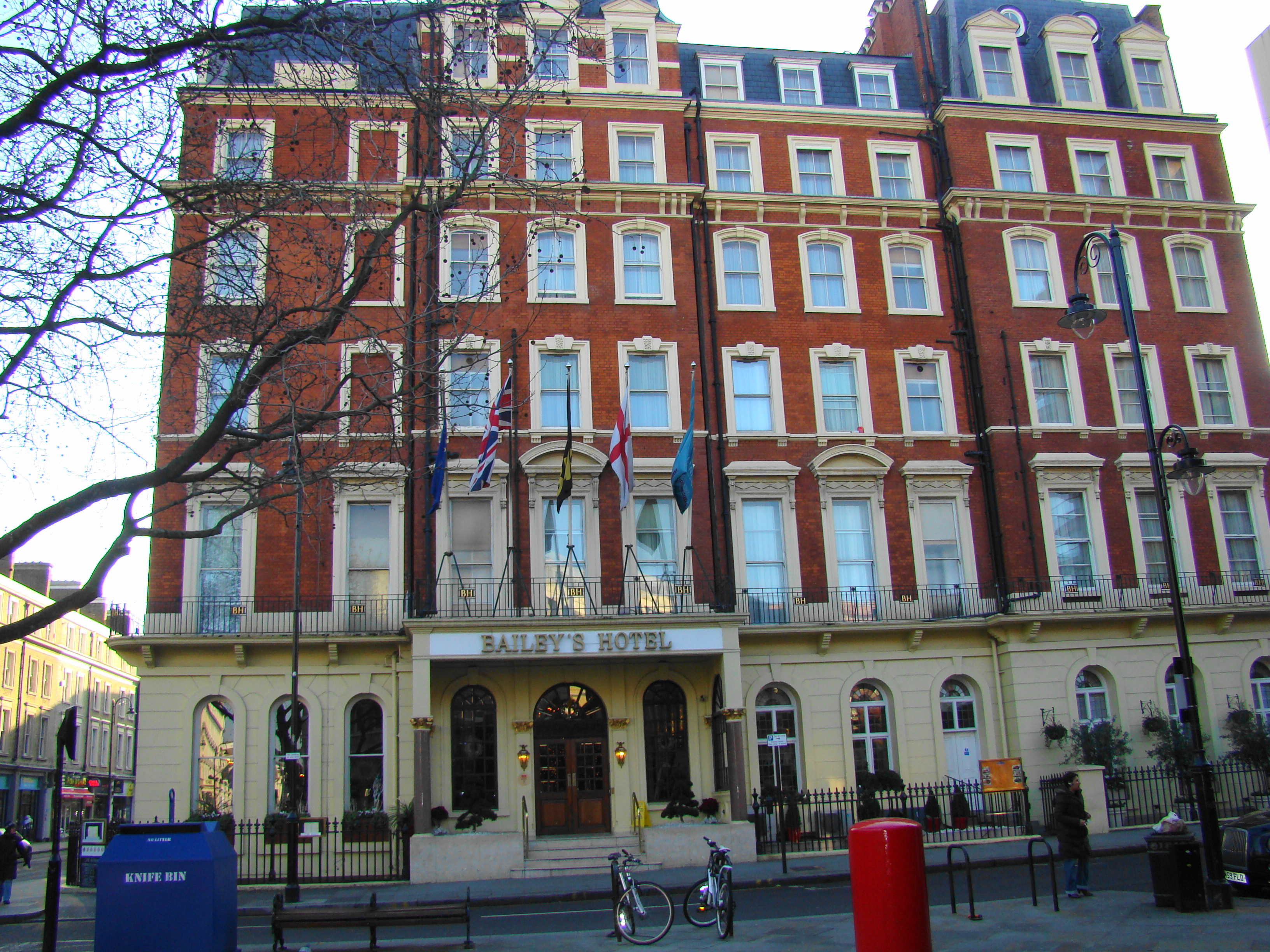 The Baileys Hotel London Address