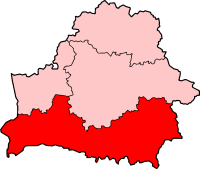 Location of Diocese of Pinsk in Belarus