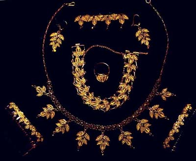 Bijoux d'un grand mariage Comorien
