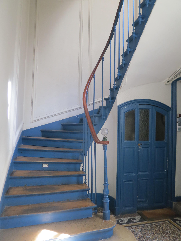 File cage d 39 escalier 61 rue de la verrerie jpg wikimedia - Amenagement cage d escalier ...