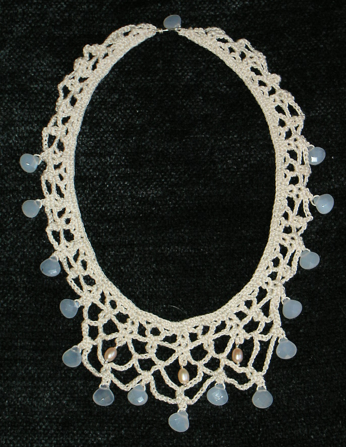 Crochet Necklace : FREE CROCHET JEWELRY PATTERNS Crochet Tutorials
