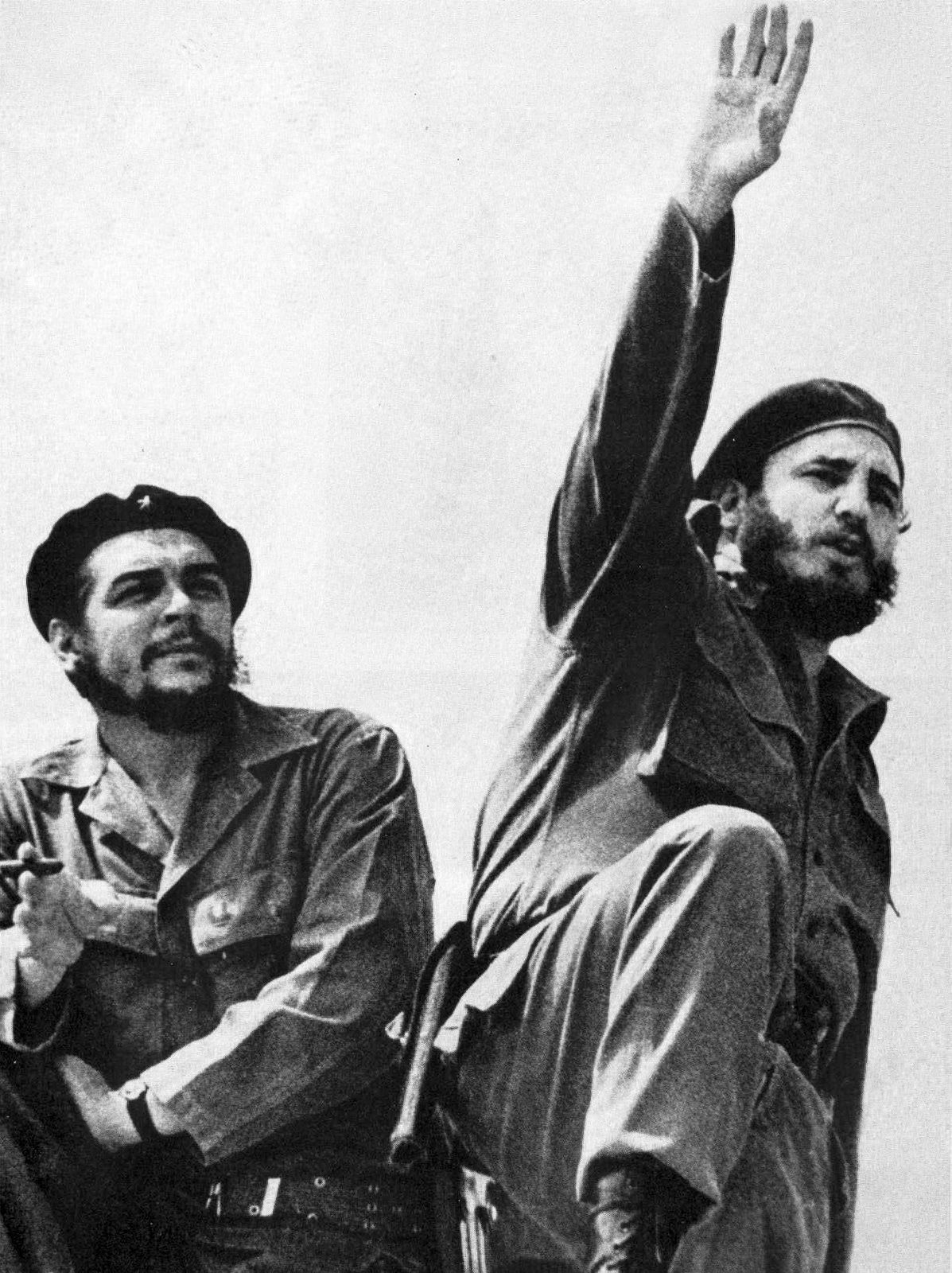 che guevara guevara left and fidel castro photographed by alberto korda in 1961