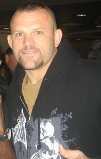 Chuck Liddell with Howard Davis Jr. in 2009