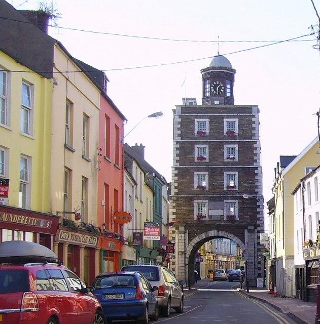 File:Clock Gate, South Main Street, Youghal, Co Cork