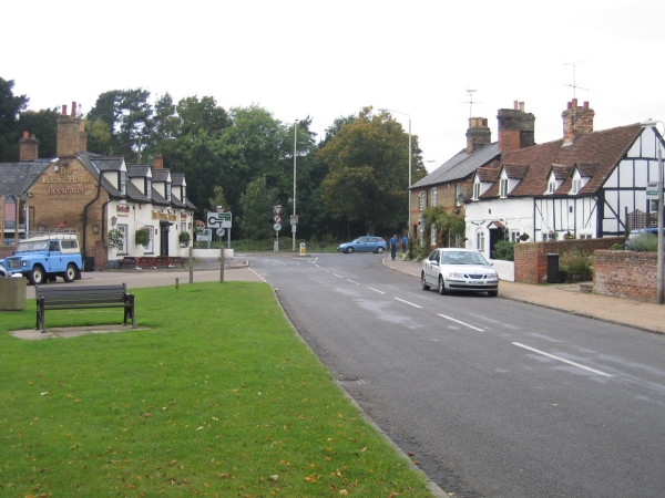 Clophill village green and High St, Beds - geograph.org.uk - 64559