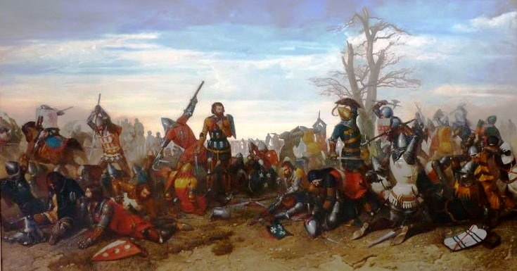 The Combat of the Thirty (1351) Combat_des_Trente