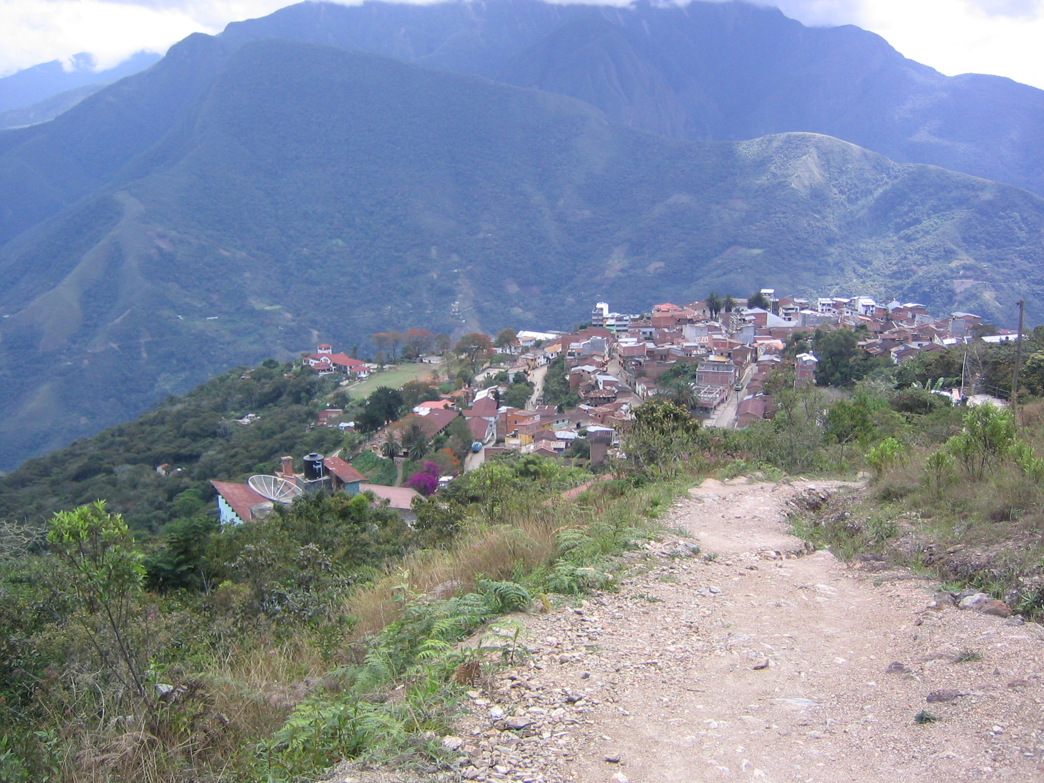 la paz single guys This road is one of the few routes that connect the amazon rainforest region of  northern bolivia, to the capital city of la paz most of the road.