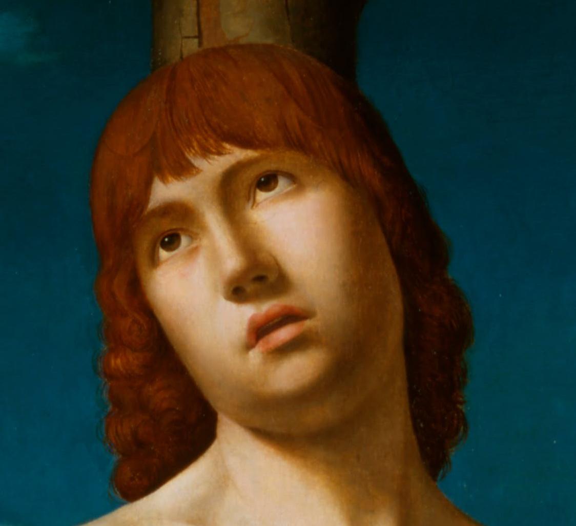 Antonello da Messina st Sebastian Antonello da Messina st