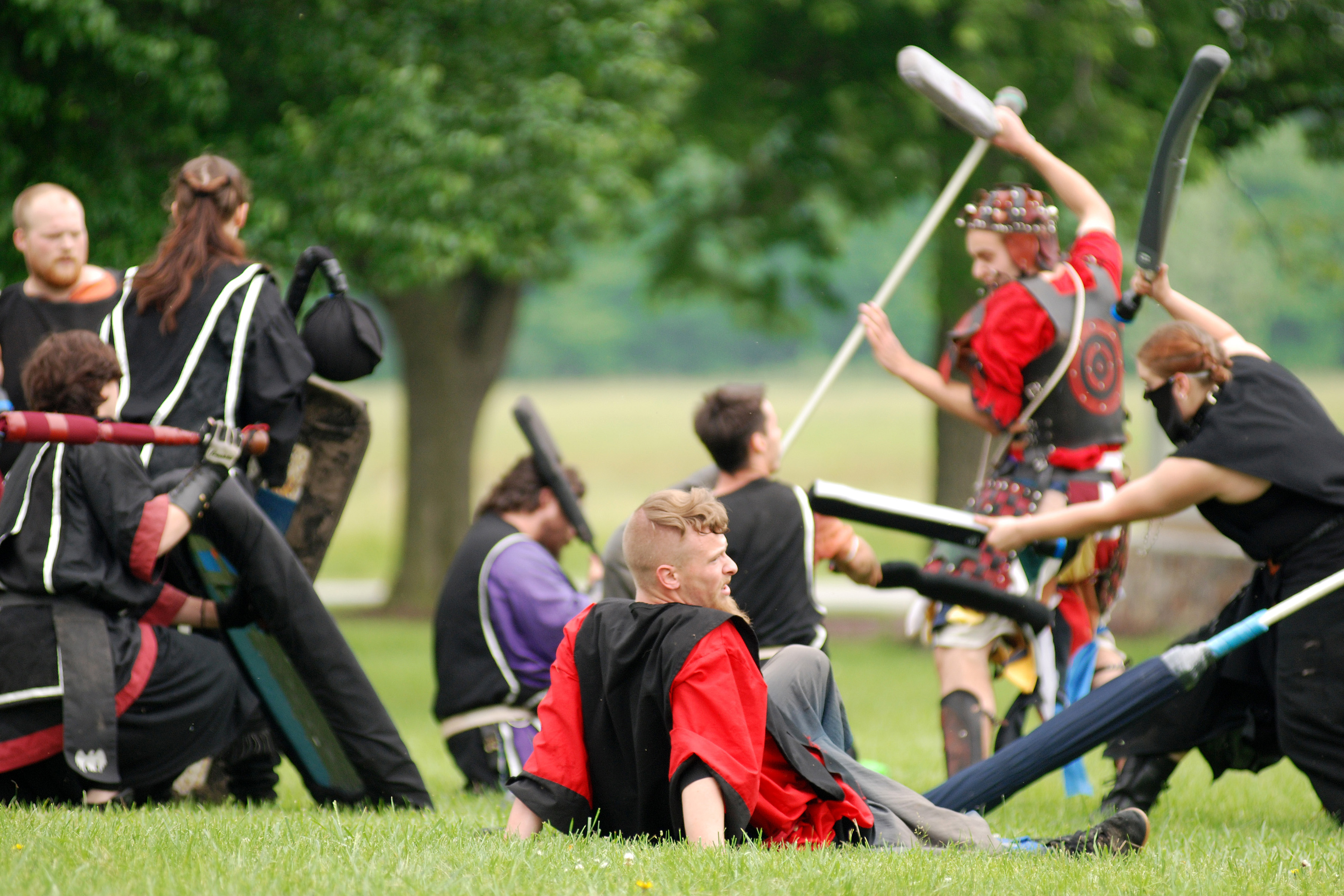 Image result for larp sword fighting