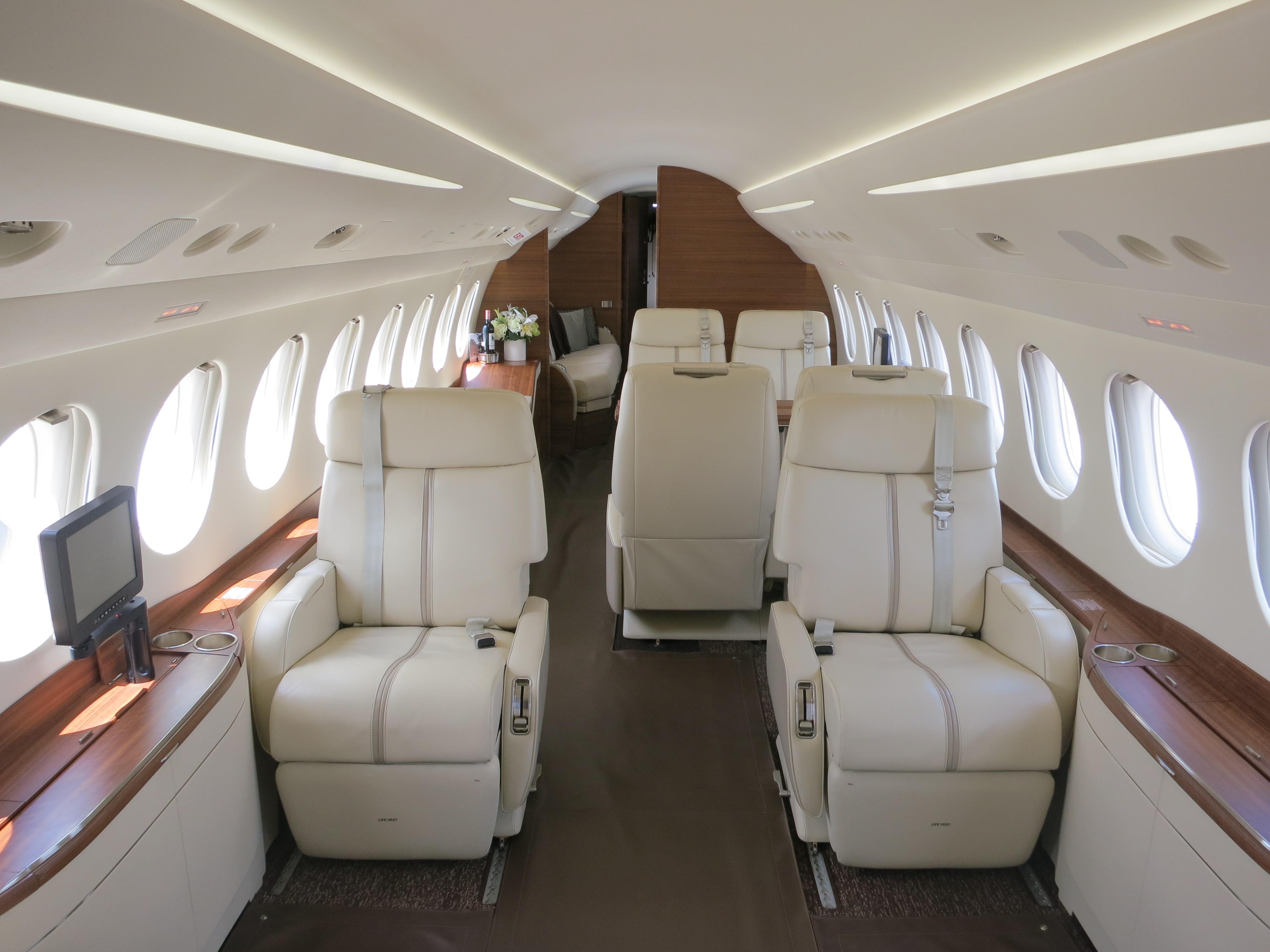 File Dassault Falcon 7x Forward Cabin Interior Jpg