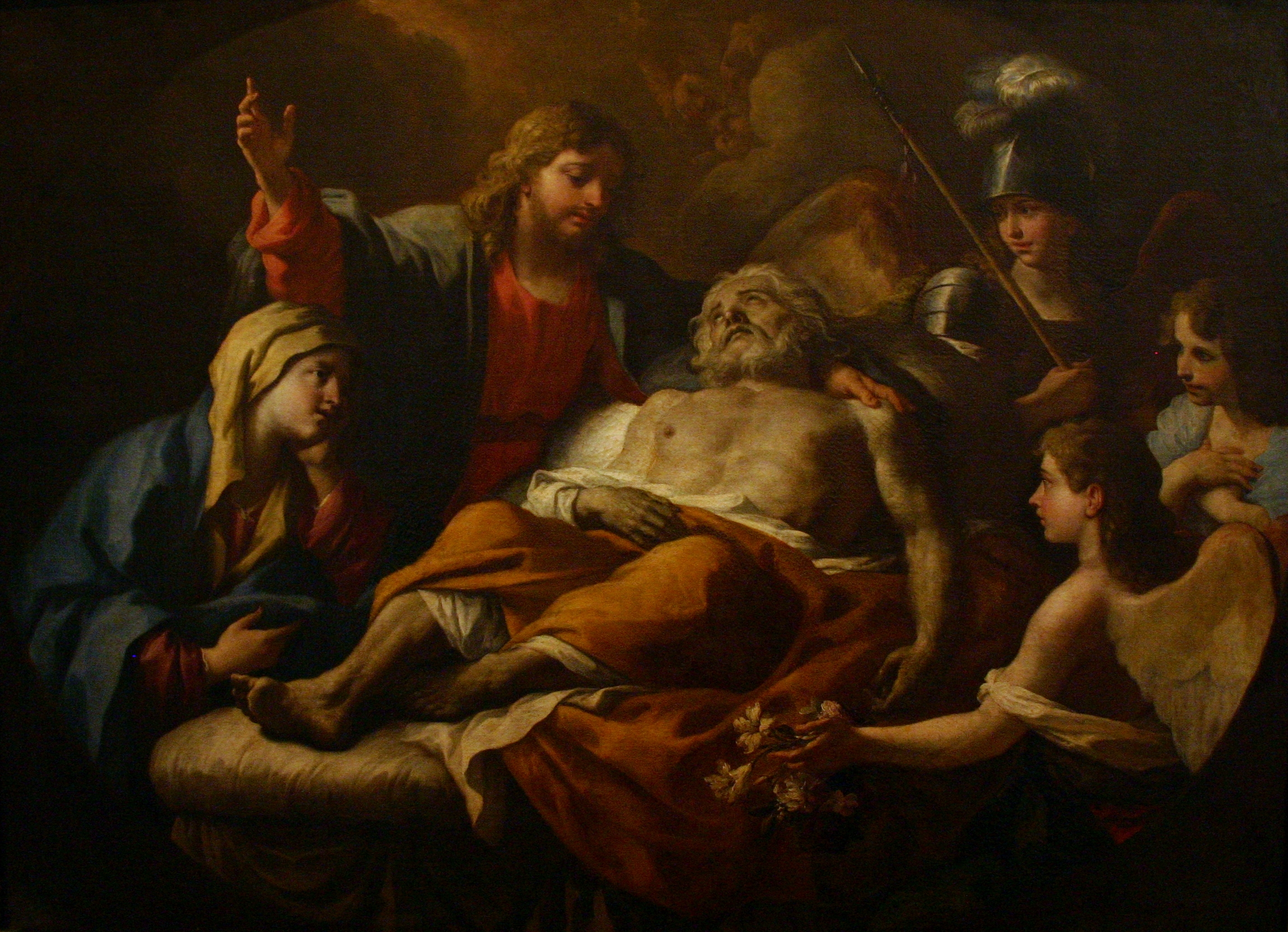 https://upload.wikimedia.org/wikipedia/commons/4/47/Death_of_St_Joseph_-_Paolo_de_Matteis_-_Castel_Nuovo_-_Naples_-_Italy_2015.JPG
