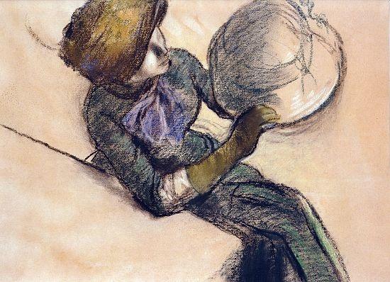 Degas Modiste Study