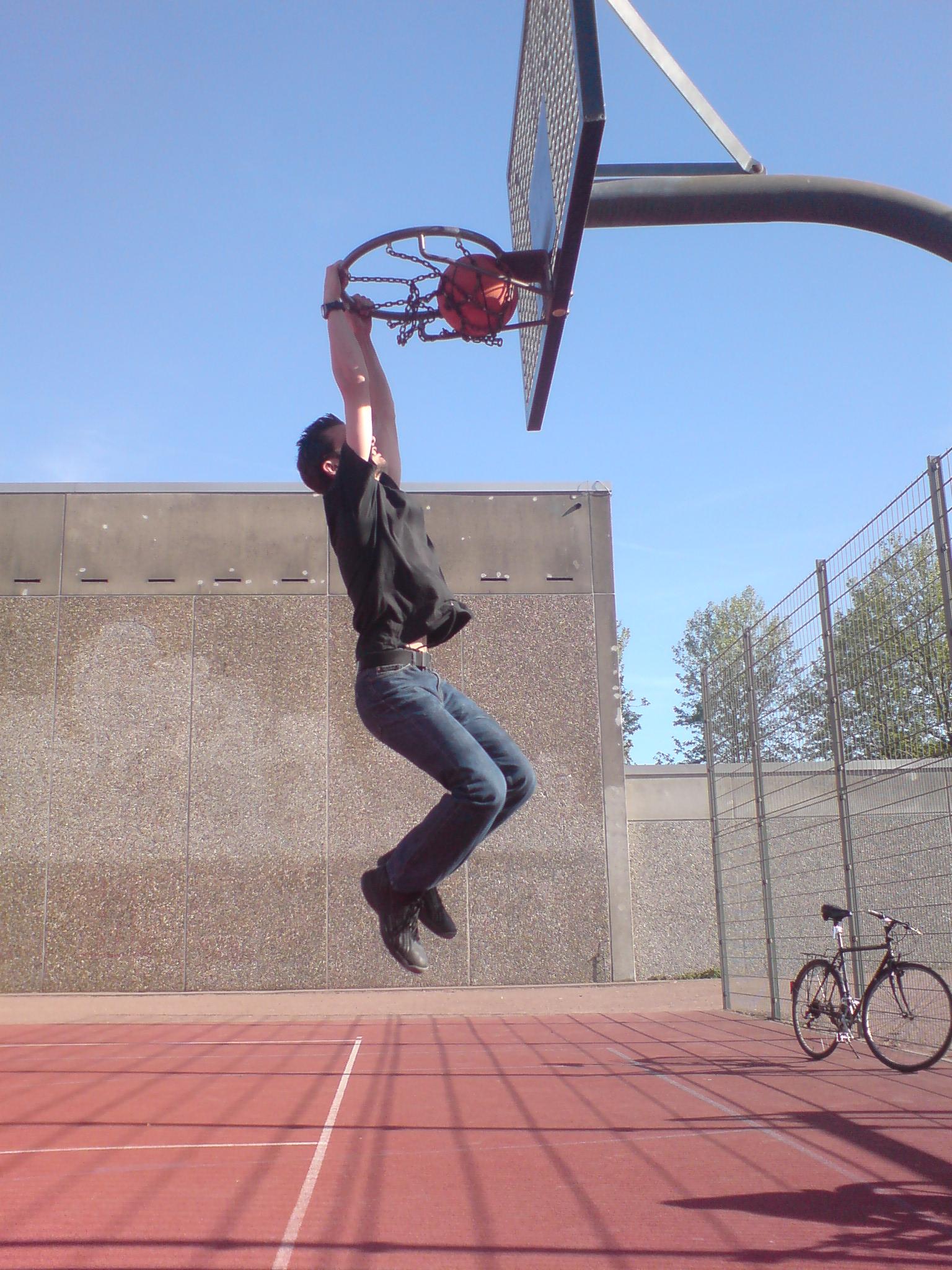 détaillant en ligne e4c54 c25d4 Slam dunk — Wikipédia