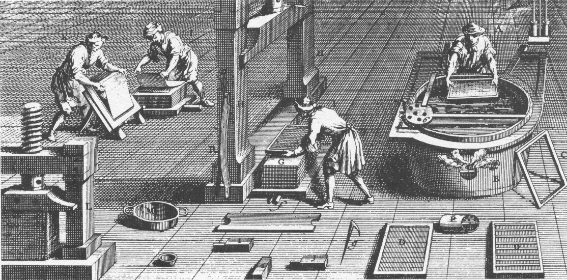 The Fourdrinier Paper-Making Machine