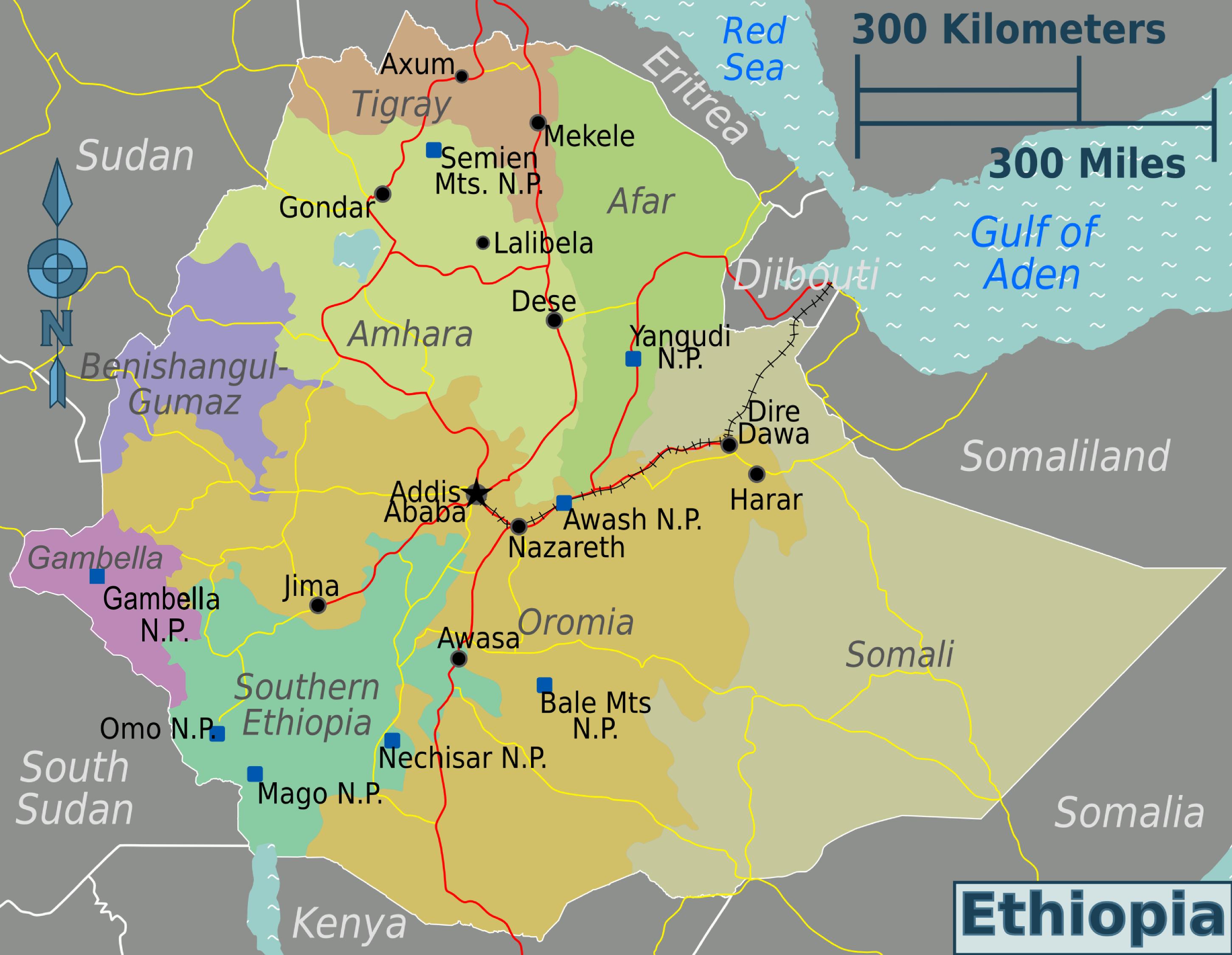 Parques nacionales de Etiopía - Wikipedia, la enciclopedia libre