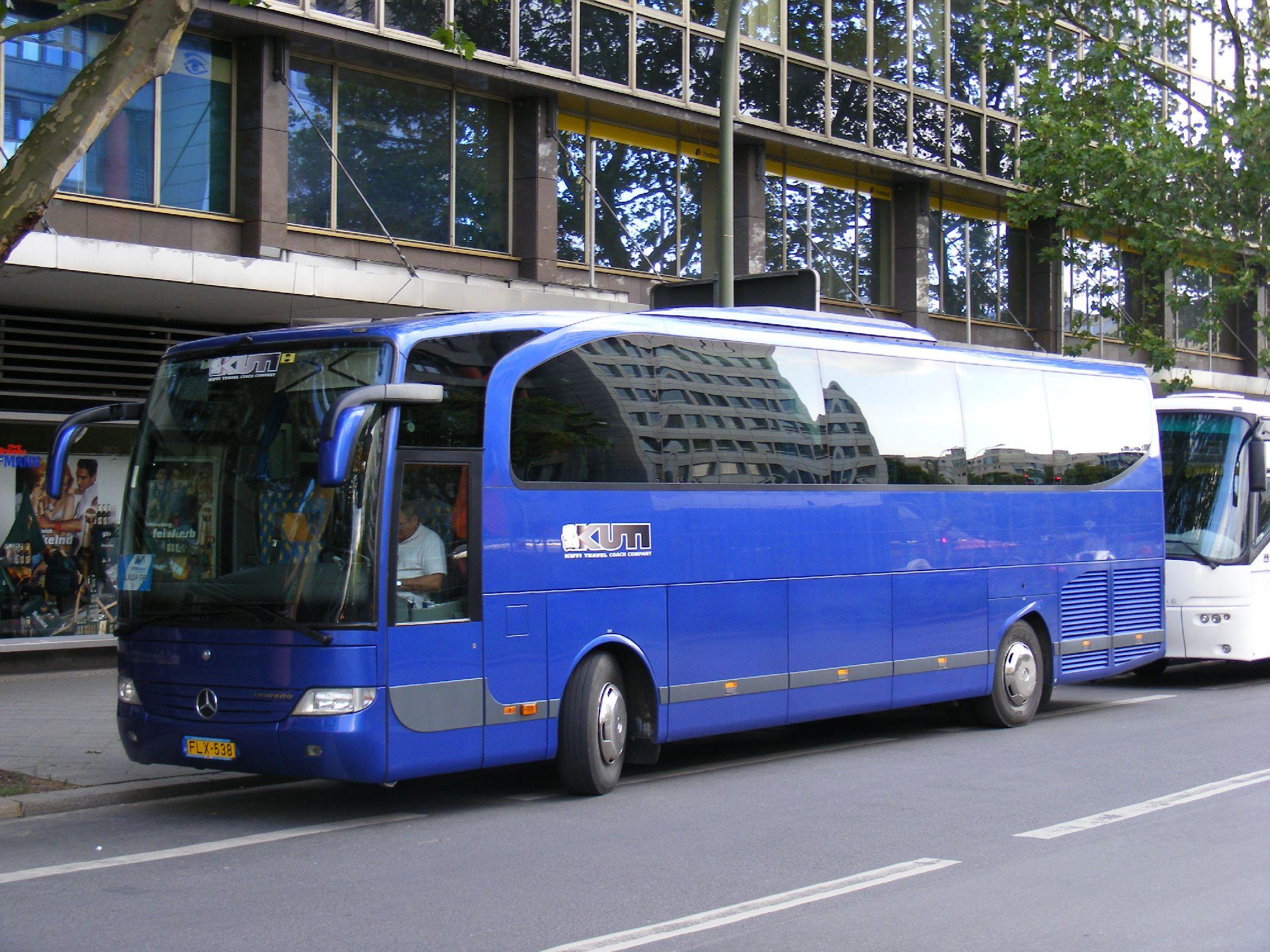 File:FLX-538, Mercedes Benz Travego, Kuti travel, Budapest ...