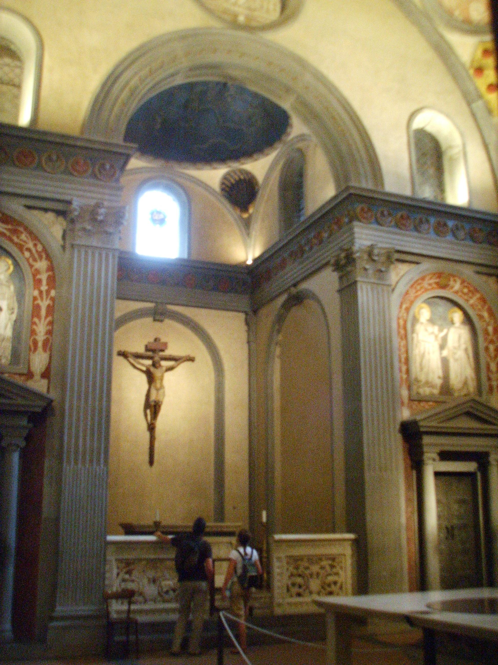 File filippo brunelleschi sacrestia vecchia jpg for Interior iglesia san lorenzo brunelleschi