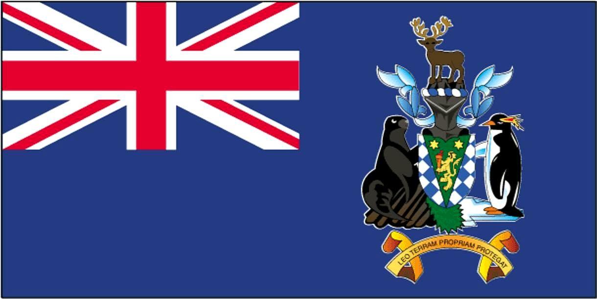 South Sandwich Islands Flag