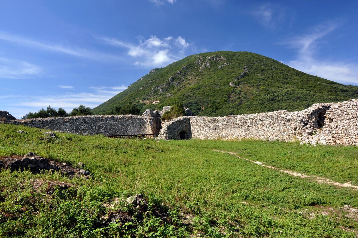 gardiki castle corfu