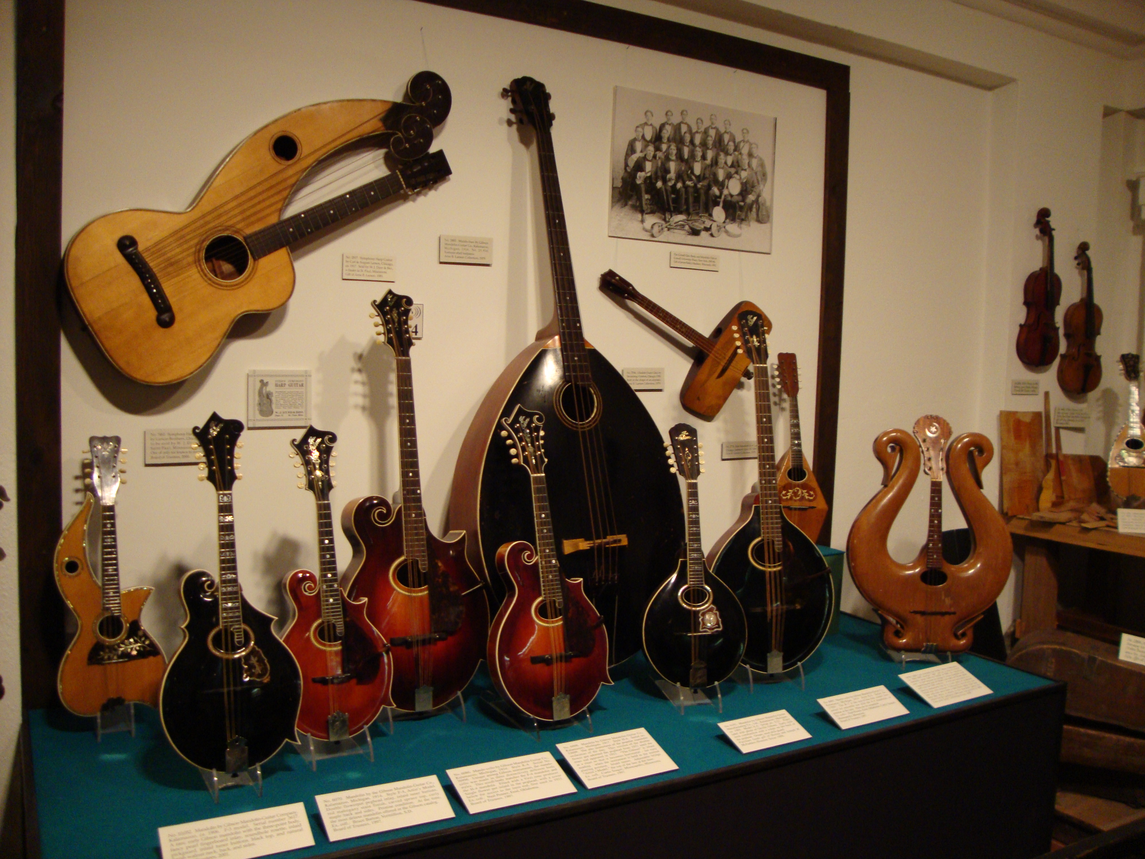 Dating gibson mandolins history