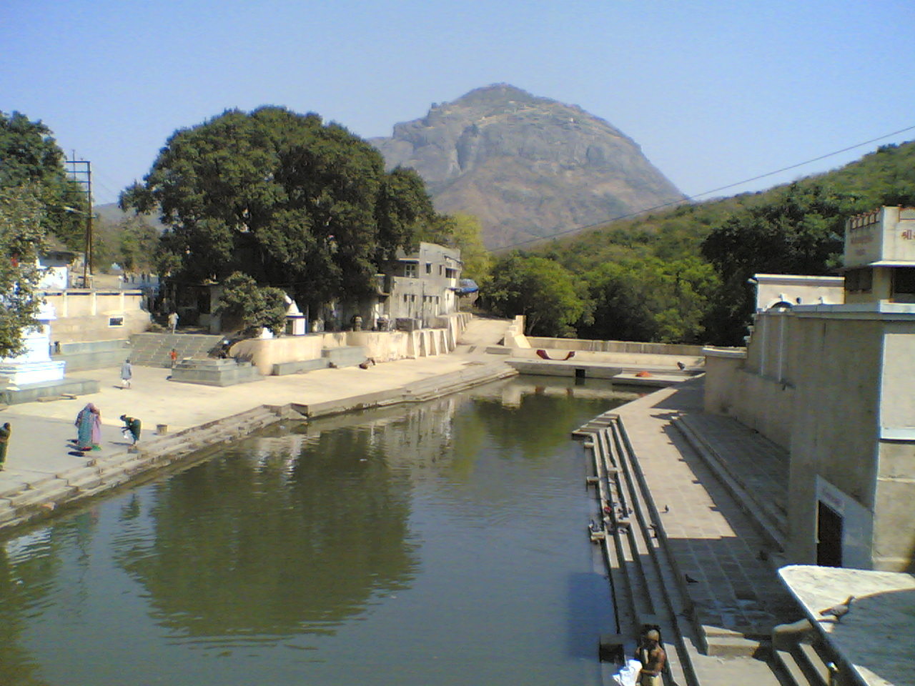View of Girnar Hills from Damodar Kund