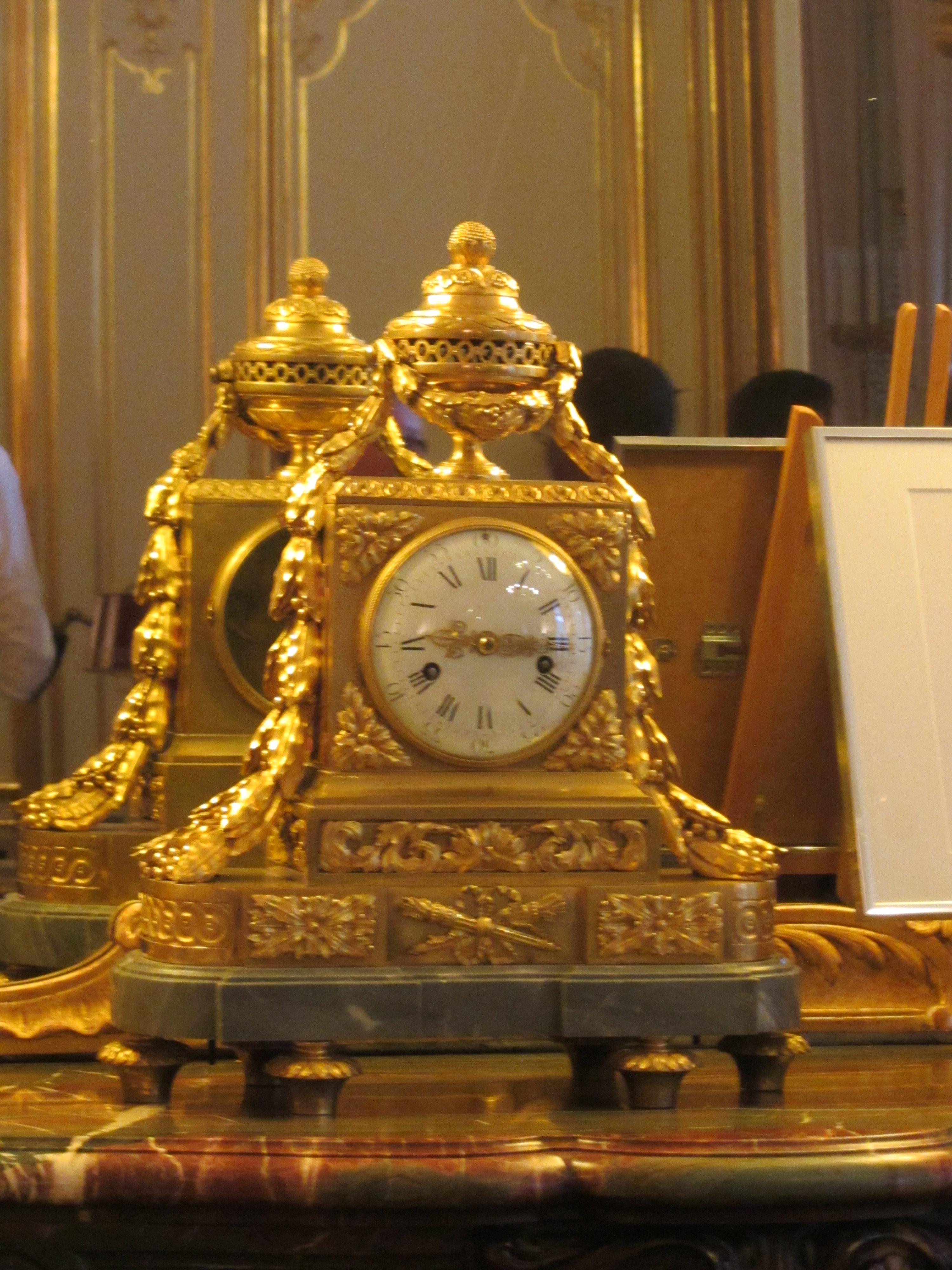 Horloge De Bureau Originale file:hôtel matignon - bureau du premier ministre horloge