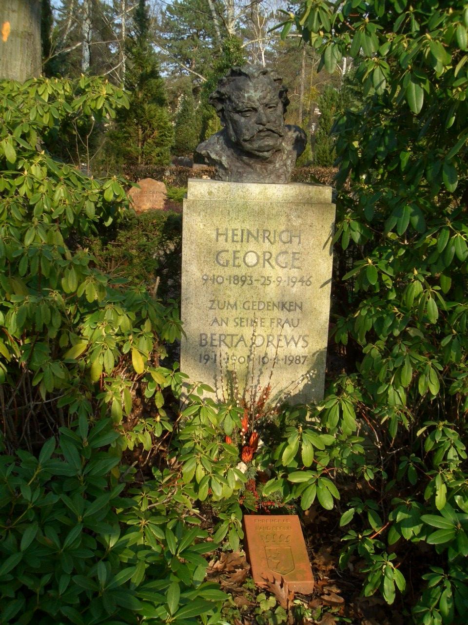 Grab von Heinrich George