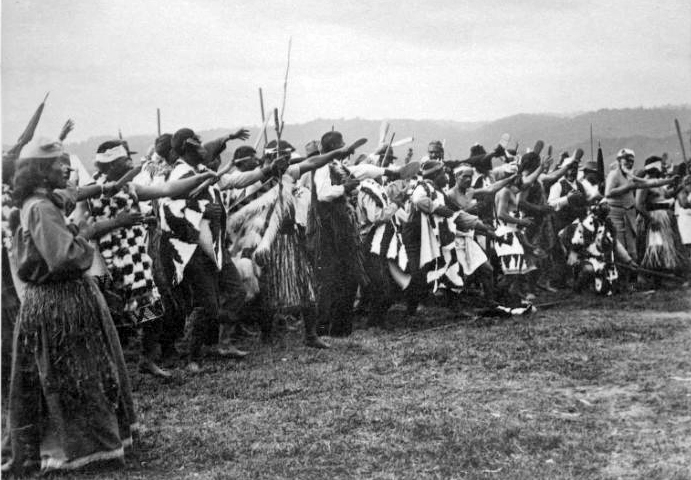 Haka for Lord Ranfurly, 1904