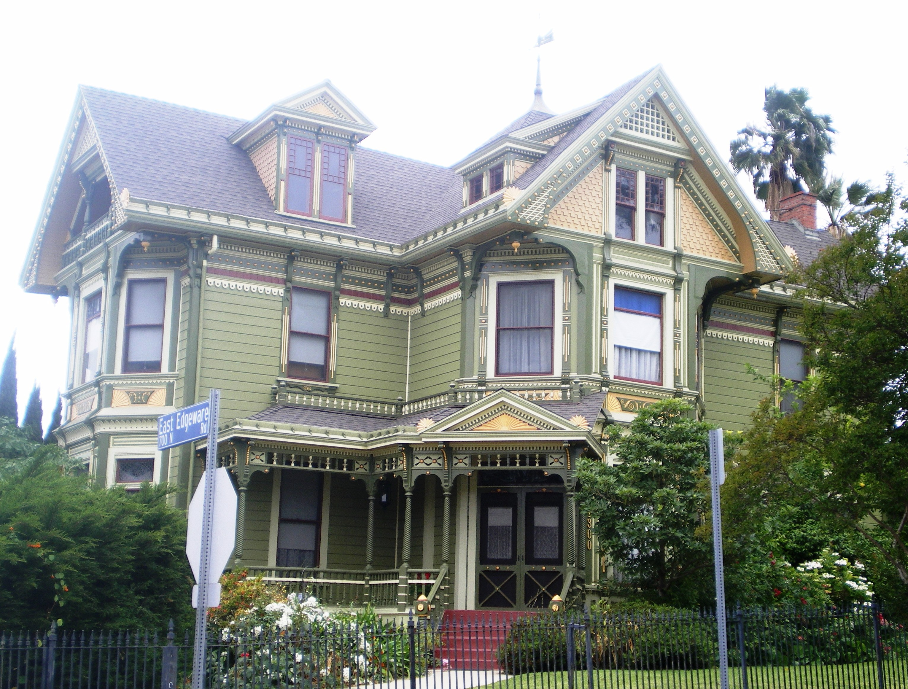 File:House At 1300 Carroll Ave., Los Angeles, California