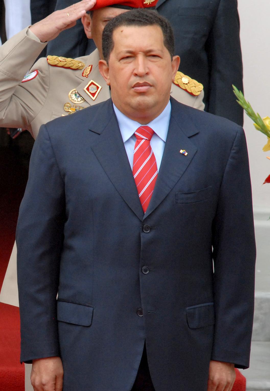 Hugo Chavez Größe