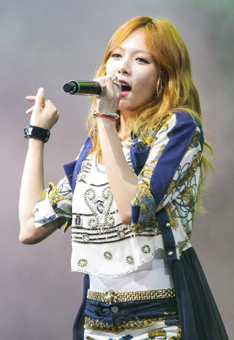 Les plus belles... HyunA_2012