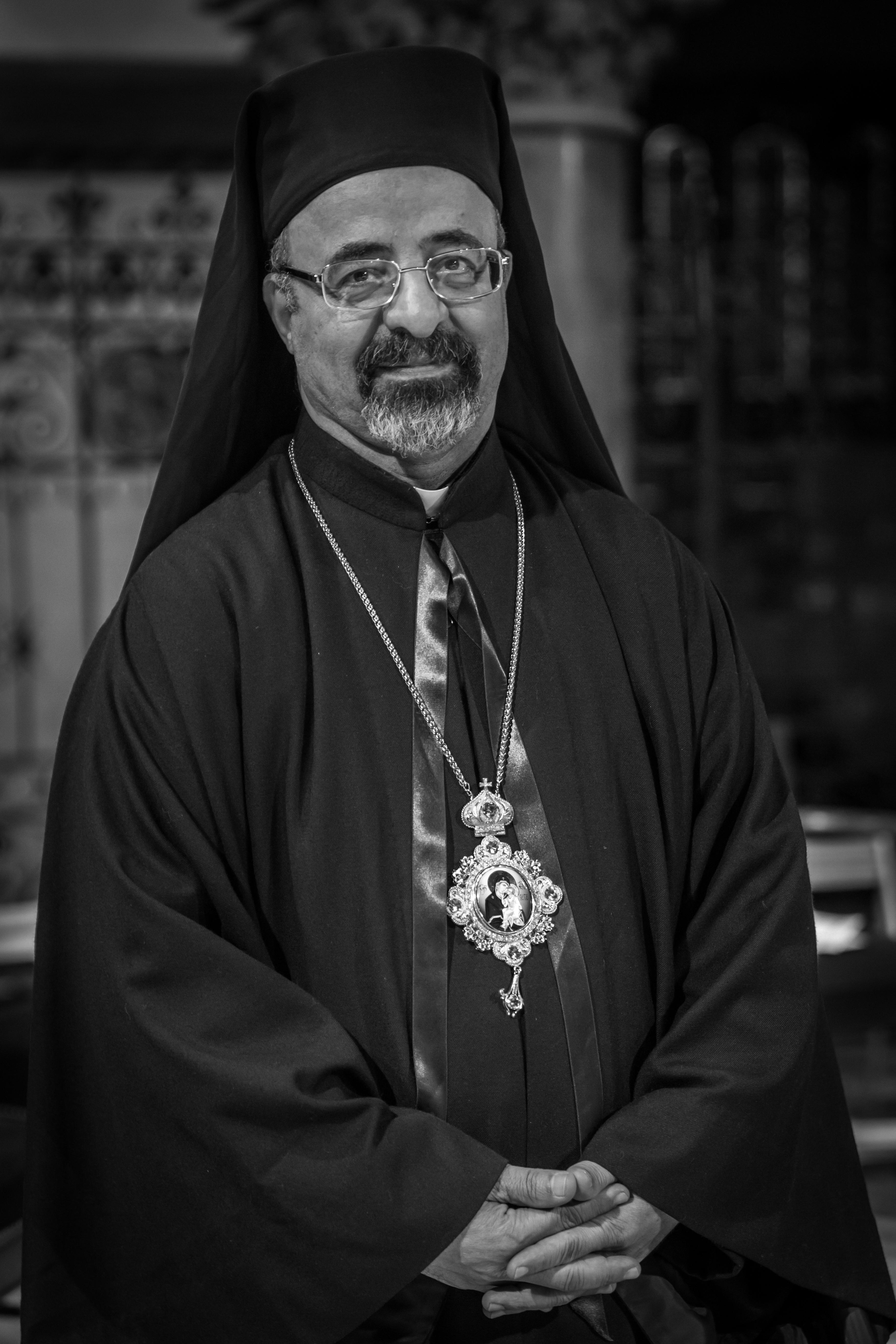 Arcebispo Ibrahim Isaac Sidrak em Estrasburgo, março de 2014.