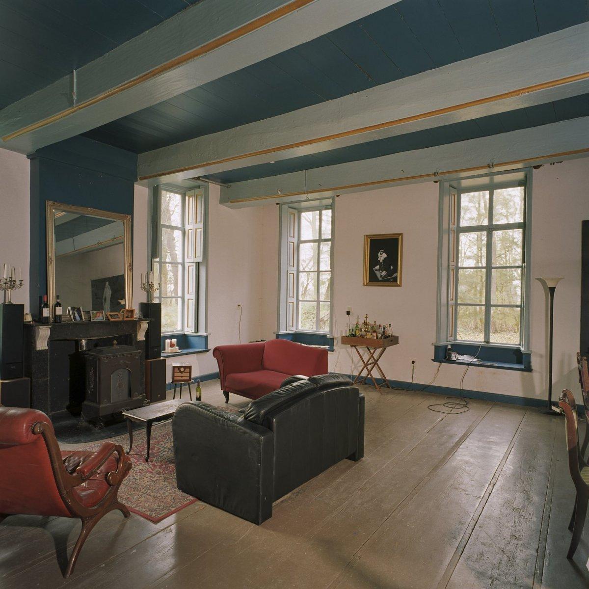 File interieur overzicht van vertrek rechts achter zgn blauwe kamer ezinge 20380733 rce - Blauwe kamer ...