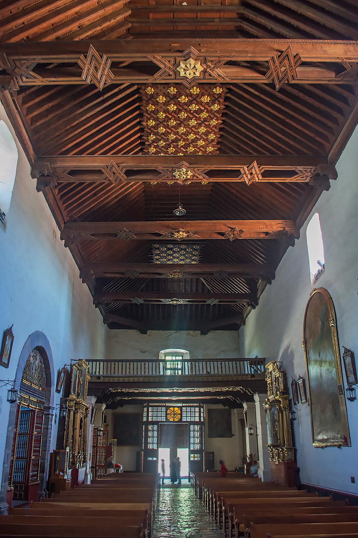 Interior del ex Convento en Tlaxcala.