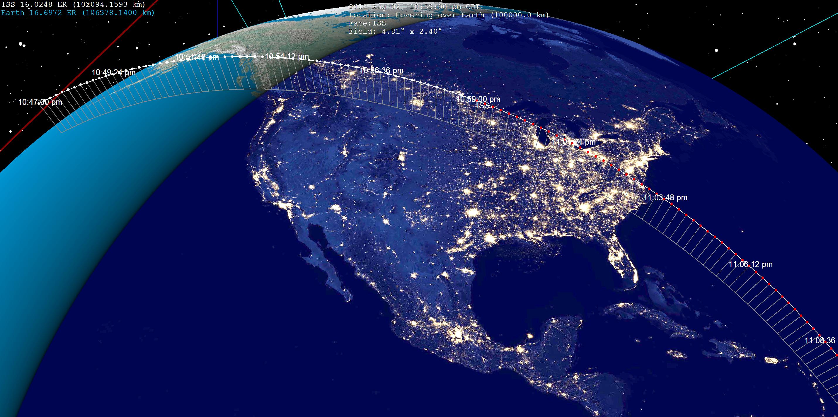 Astronómia pre začiatočníkov: Ako nájdeš Medzinárodnú vesmírnu stanicu?