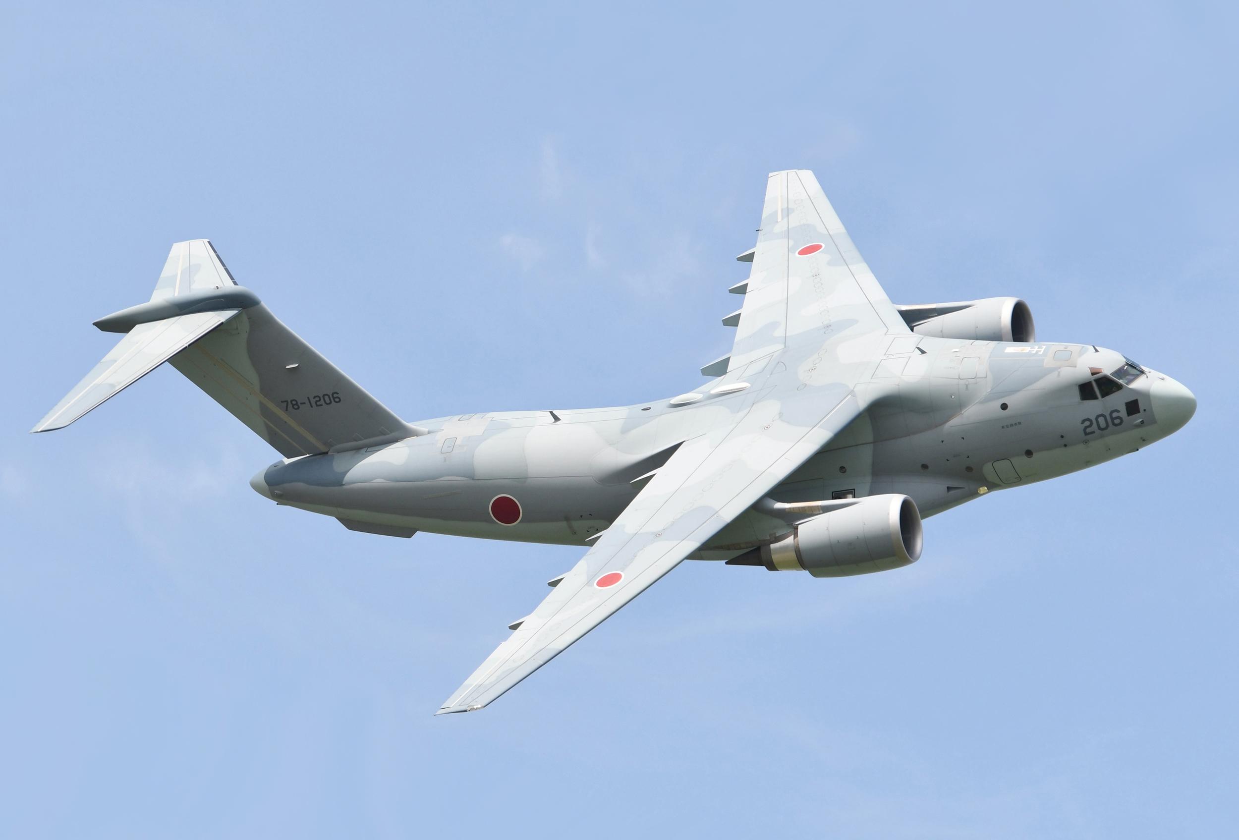 Kawasaki C-2  mid size transport aircraft