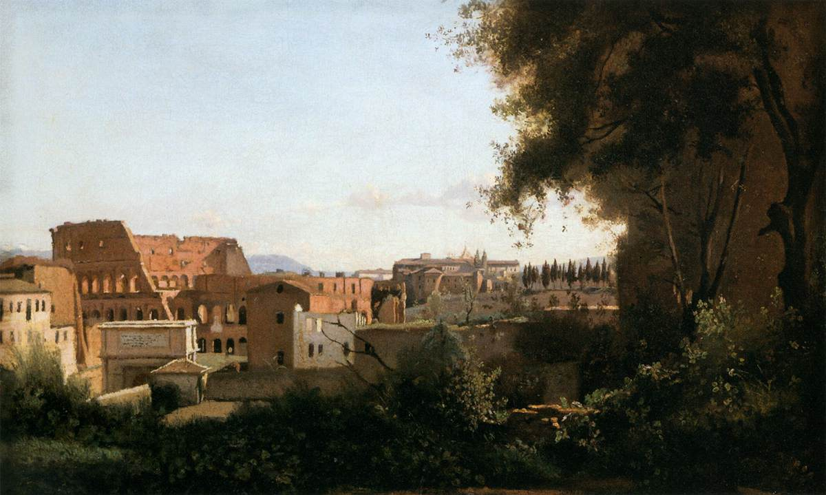 The Coliseum Seen from the Farnese Gardens