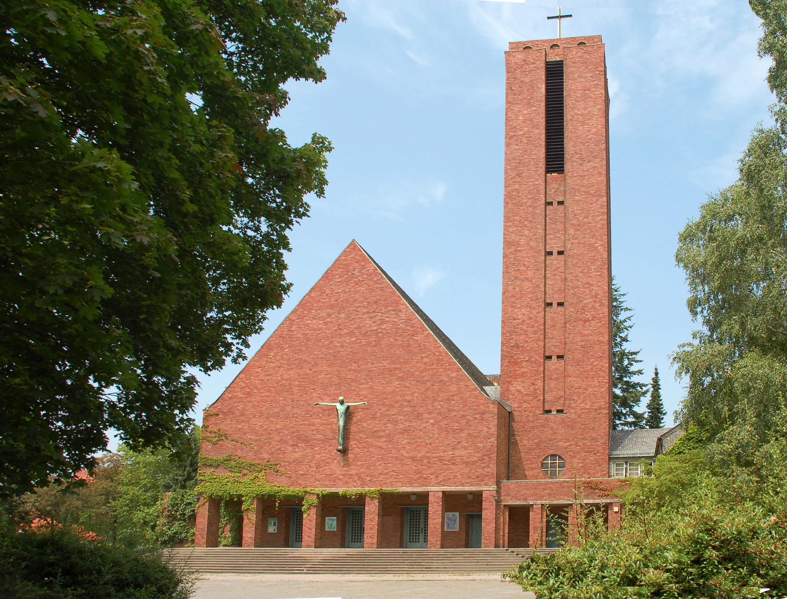 Jesus-Christus-Kirche Dahlem - Wikiwand