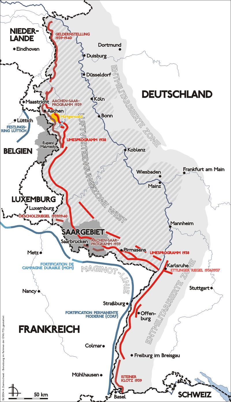 Bunker Atlantikwall Karte.Siegfried Line Wikipedia