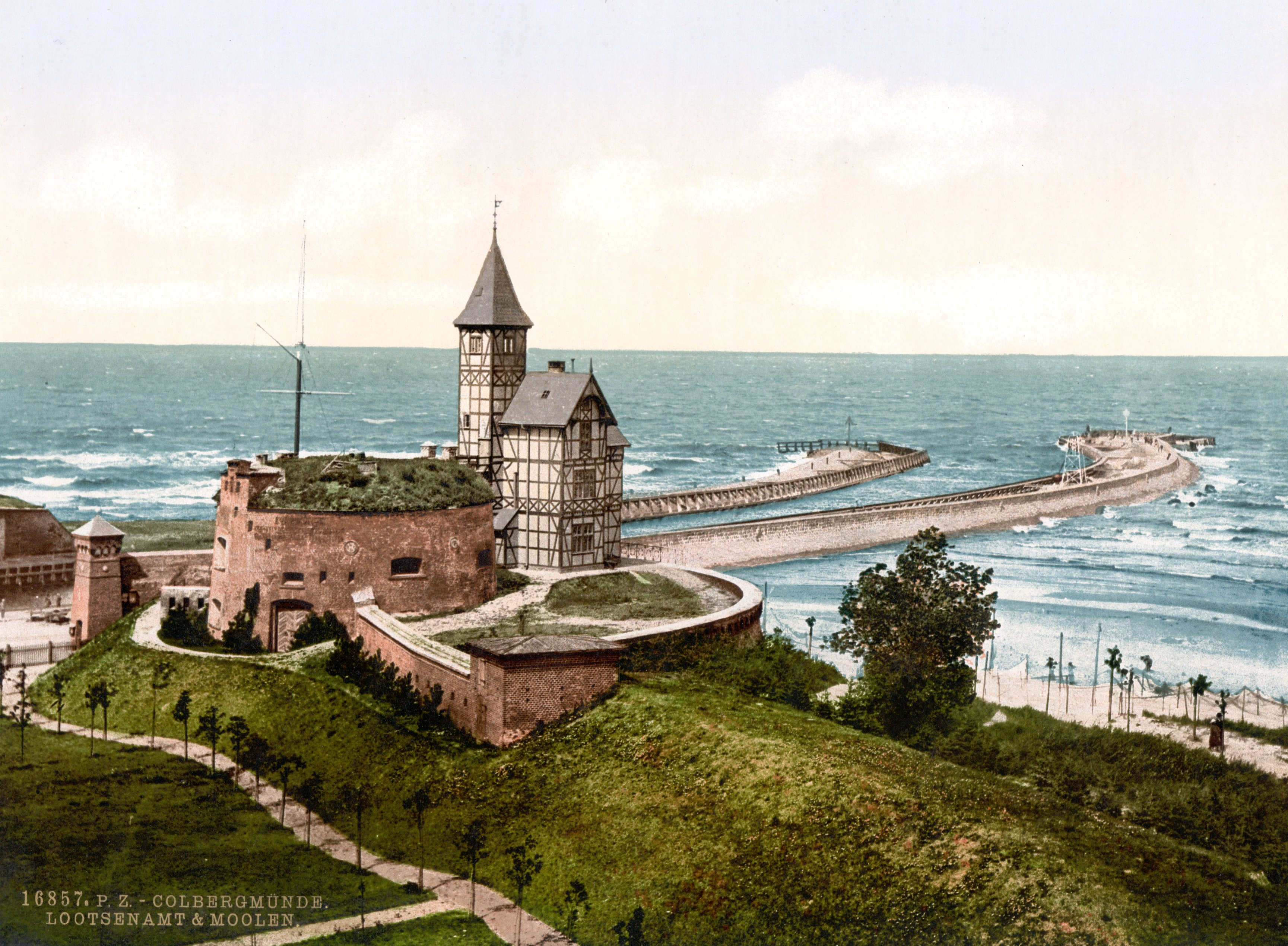 Plik:kolobrzeg_latarnia_1890 1905r on Color By Number Division