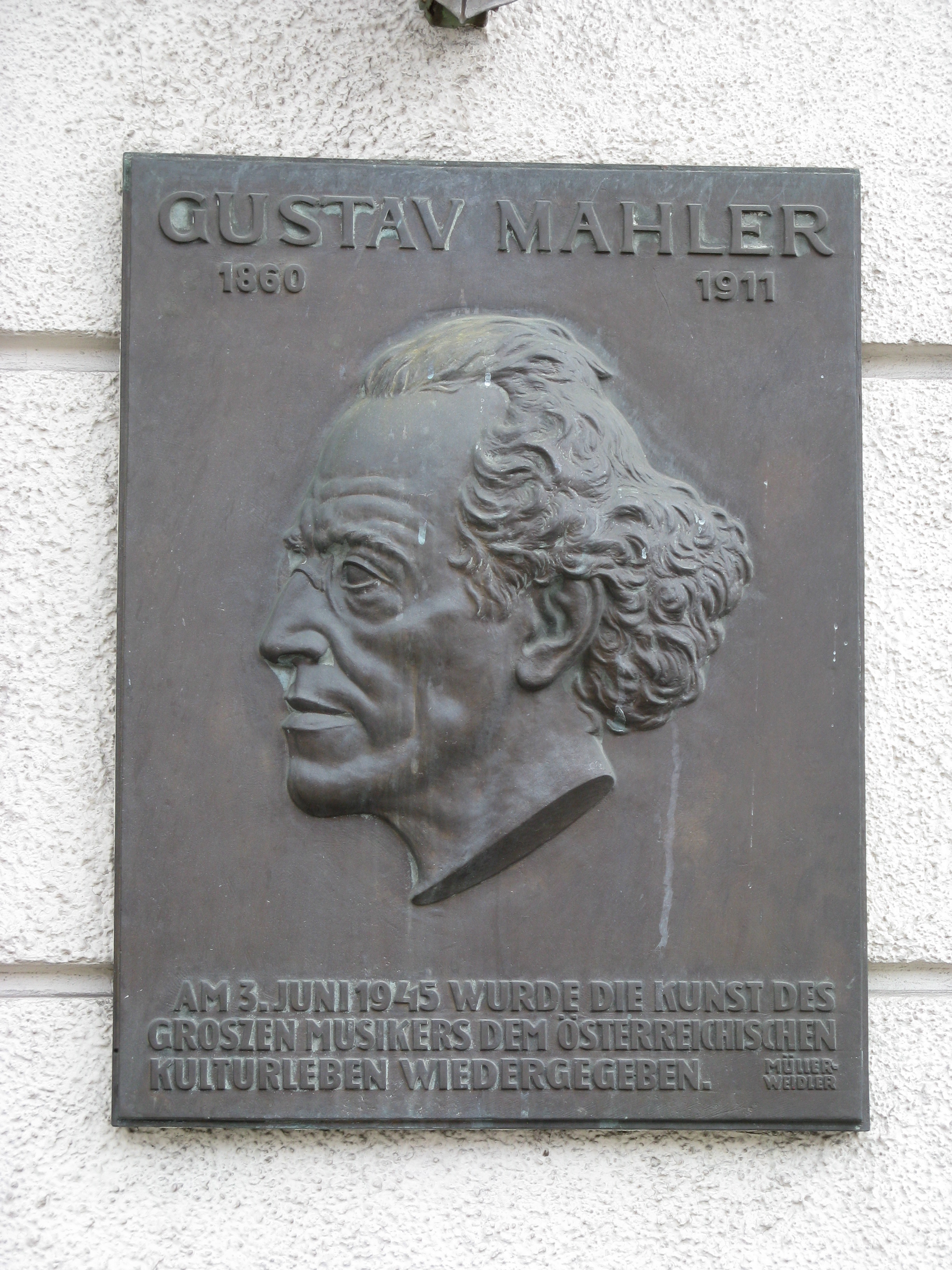 Konzerthaus, Vienna-Gustav Mahler.jpg