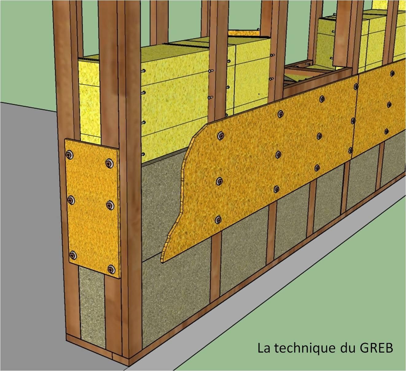 Mur Exterieur En Planche De Coffrage technique du greb — wikipédia