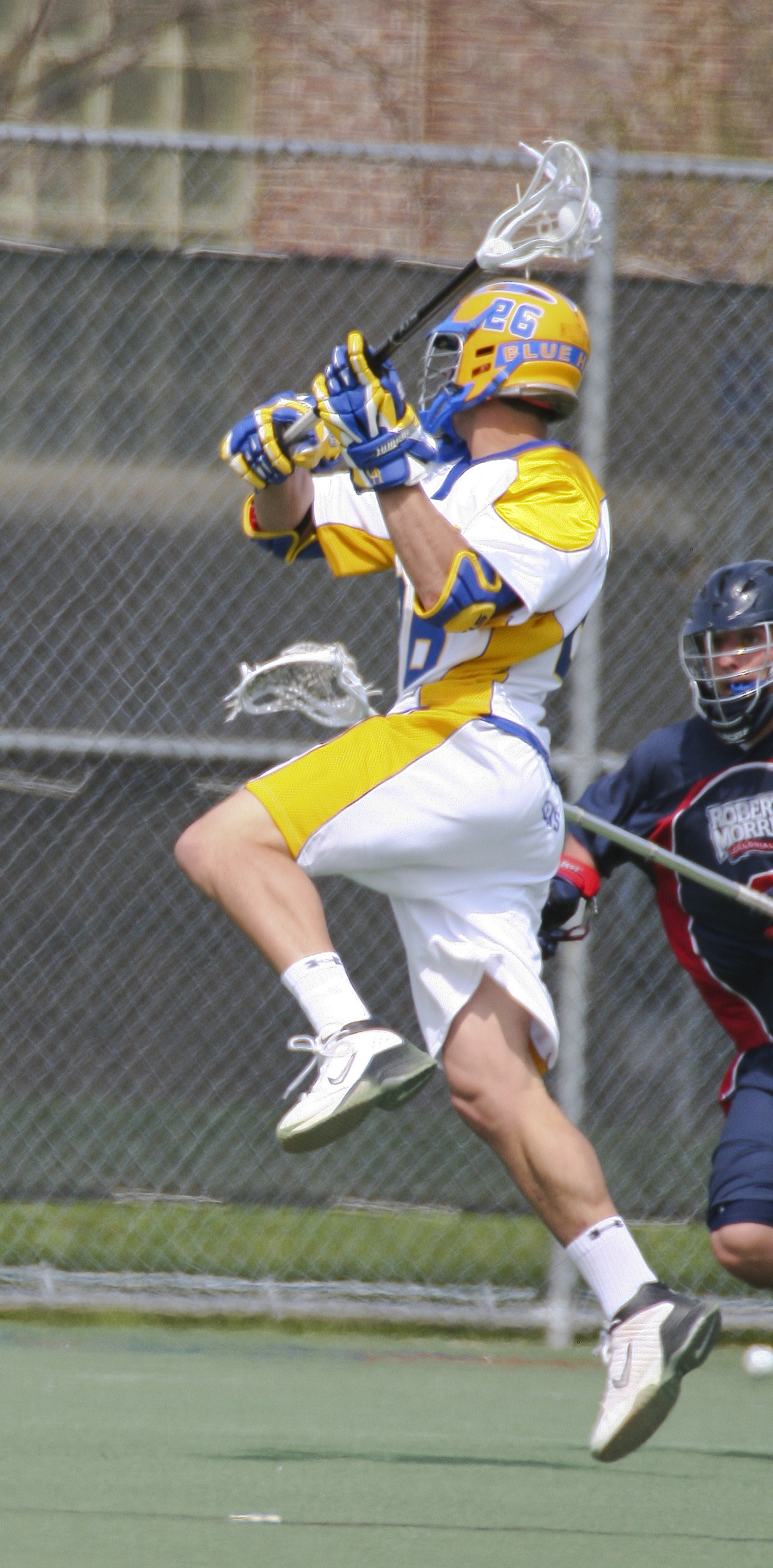 science in a lacrosse shot Physics in lacrosse anthony larsen a lacrosse shot is fired at about 90 or 100 miles per hour sports science video.