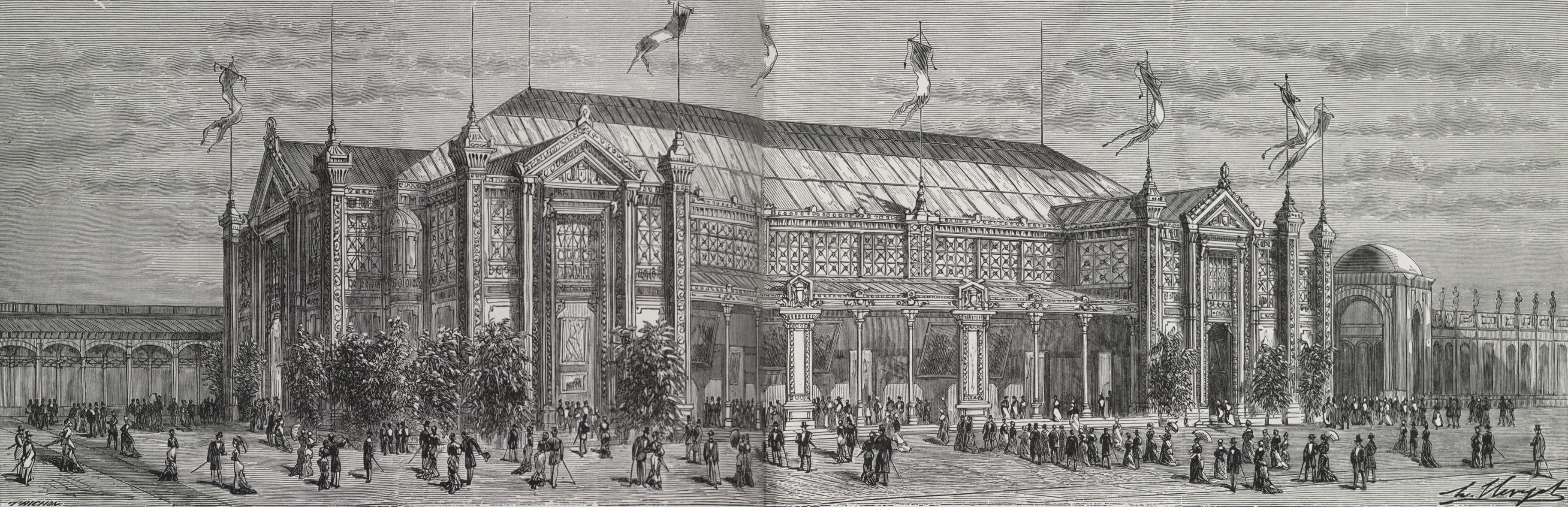 file le pavillon de la ville de paris au centre du palais