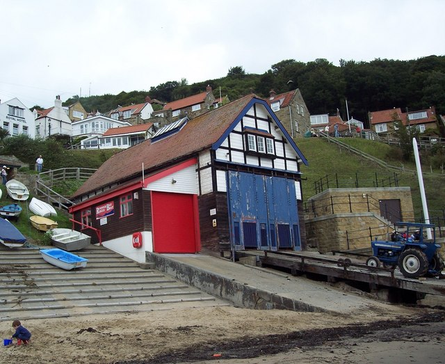 Lifeboat Station, Runswick Bay - geograph.org.uk - 521509