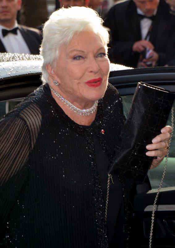 Line Renaud au festival de Cannes | Source : Getty Images.