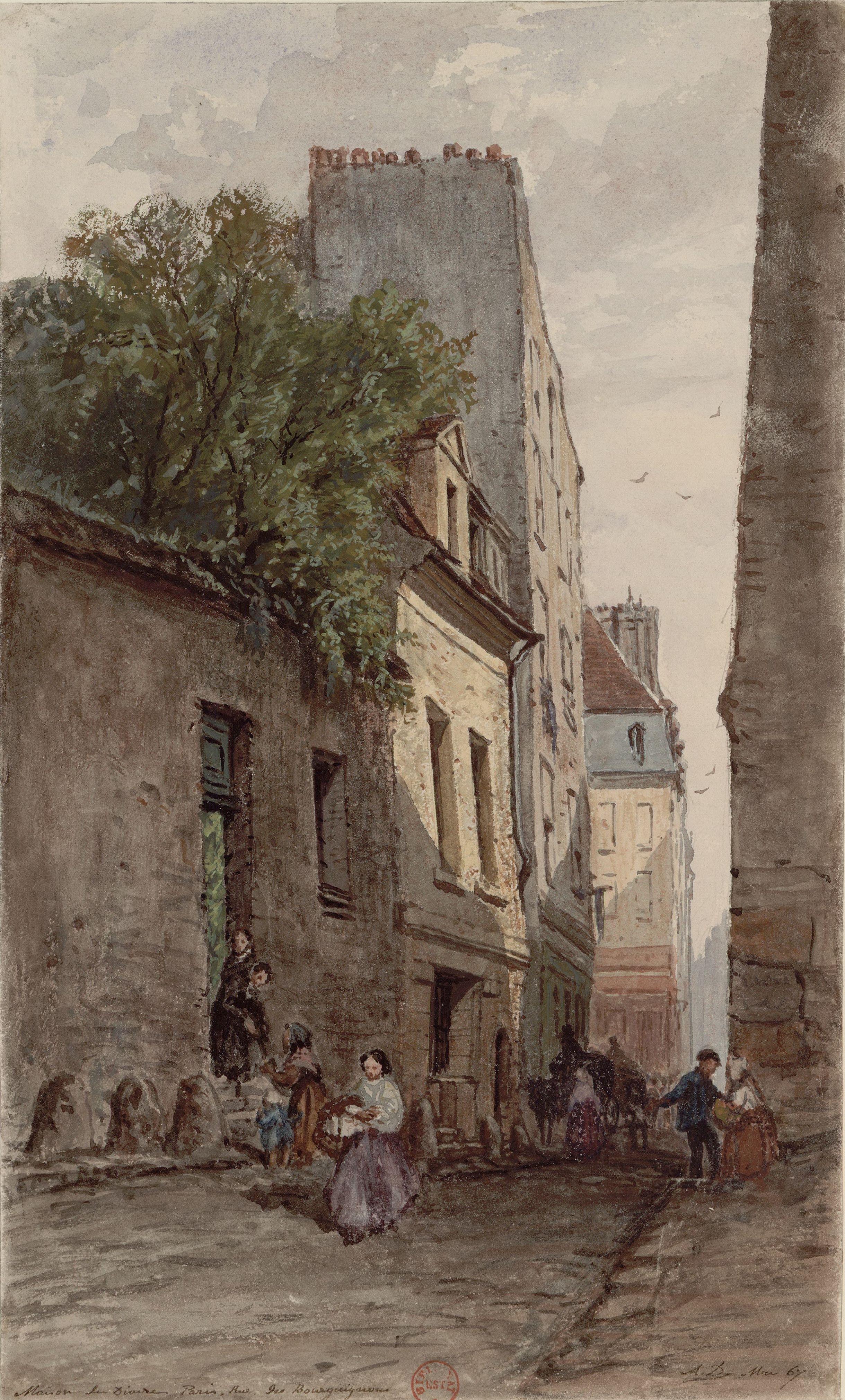 File maison du diacre fran ois de p ris rue des for Maison du the paris